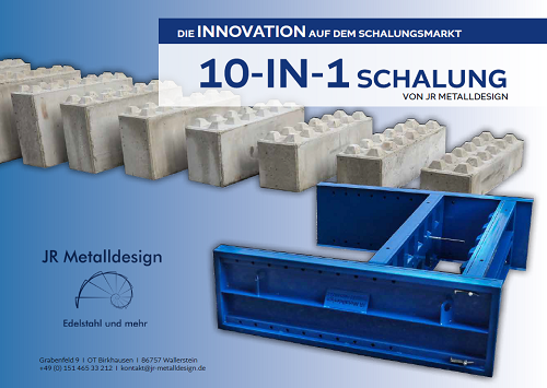 10-in-1 Schalung